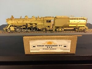 Sunset, Great Northern GN, 0-1 or SP&S O-2, 2-8-2, pre-owned, unpainted