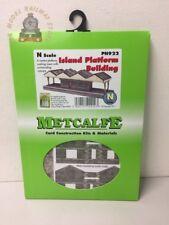 Metcalfe PN922 Island Platform Card Kit - N Gauge