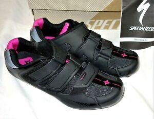Specialized Spirita Road Women's Cycling Shoes EU 40 USA 9 Black Pink
