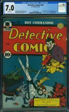 Detective Comics #76 CGC 7.0 DC 1941 Classic Joker Cover! Batman! WHITE! H10 cm