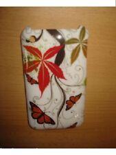 Hard Case Schmetterling Grass Tasche Etui Schutz Hülle Apple iPhone 3G 3GS Neu