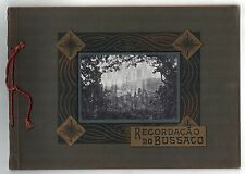 SCARCE 1900s RECORDACAO DE BUSSACO Portugal PORTUGUESE Emilio Biel PORTO Anadia