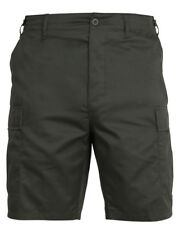 Hombre Verde Oliva Militar Bdu Pantalones Cortos Rothco 65200