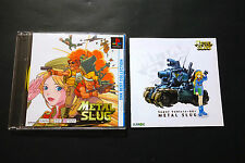 METAL SLUG Sony PlayStation PS1 Book JAPAN Very.Good.Condition !