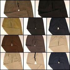 Lot 11 Mens 38 x 30 Casual Pants Cargo Khakis Pleated Flat Front Huge Resale Set