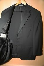 #43 CANALI Two Button Travel Wool & Mohair Tuxedo Size 42 R