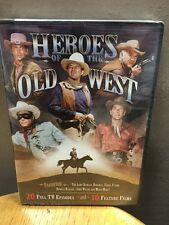 Heroes of the Old West (DVD, 2011, 4-Disc Set) NEW!!