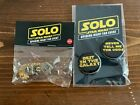 Solo - Han Solo's Lucky Dice, 2 Buttons, New, Unopened, $19.99.