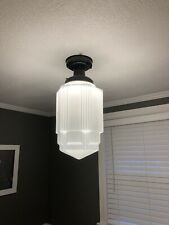 Large Art Deco Skyscraper Light Shade