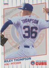 2019 South Bend Cubs Riley Thompson RC Rookie Chicago