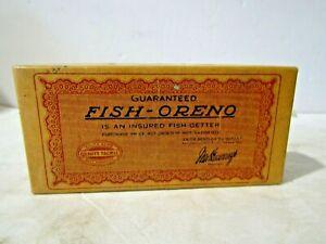 South Bend Fish Oreno 953 Empty Box & paper Pat Sec 19, 1916