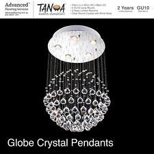 Chandelier Modern Crystal Pendants Globe Ceiling Chandelier Lighting Light Decor