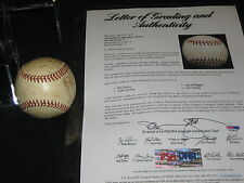 1939 YANKEES WS CHAMPS (23) SIGNED AUTOGRAPHED BASEBALL GORDON, RUFFING PSA/DNA