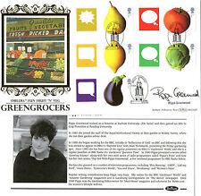 2006 FRUIT & VEG SMILERS HAND SIGNED PIPPA GREENWOOD BENHAM FIRST DAY COVER SHS