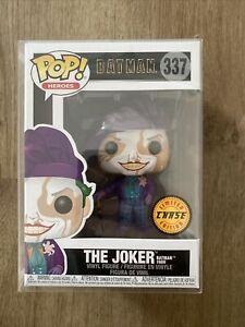 Batman (1989) - The Joker Pop! Vinyl Figure  Chase Super Rare - No. 337