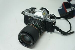 Vintage Yashica FX-D Quartz SLR film camera with Yashica 35-70mm lens