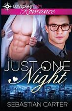 Just One Night by Sebastian Carter (2016, Paperback)