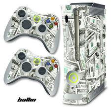 Skin Decal Wrap for Xbox 360 Original Gaming Console & Controller Xbox360 BALLIN