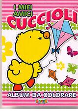 I miei amici cuccioli. Album da colorare - Salvadeos - Libro nuovo in offerta!