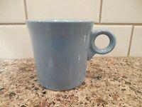 FIESTA FIESTAWARE HLC RING HANDLED COFFEE MUG CUP BLUE PERIWINKLE? TOM & JERRY
