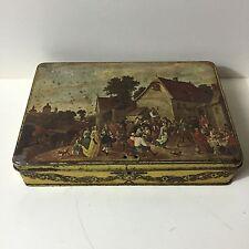 Ancienne Boîte Vintage En Métal Super Chocolat Jacques Voir Photos