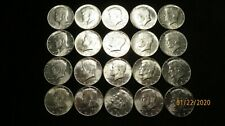 1964-P One Roll(20) Kennedy Half Dollars - SILVER 6