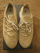 H by HUDSON LONDON TRELAWNY SAND SUEDE SNEAKER Size 10 (43 EURO)-NIB-AUTHENTIC