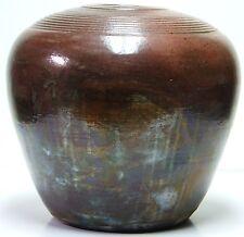 Raku-yaki (楽焼)  Raku Pottery by International Artist Brent Litsey Worldwide #66.