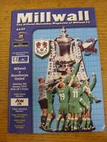 09/01/1990 Millwall v Manchester City [FA Cup] (Team Changes). Unless stated pre