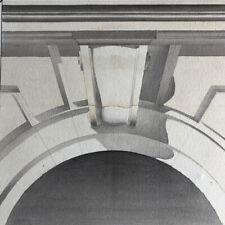 Éléments d'architecture —  5 dessins académiques aquarellés, signés & datés 1913