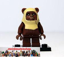 Lego® Star Wars Minifigur, Figuren, Ewok Paploo, sw238, 8038