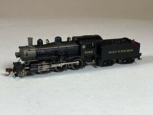 N Scale Model Power Southern 2-6-0 Mogul steam locomotive, Metal Hybrid ME-29