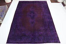 en exclusivité Vintage élégant violet look antique Tapis de Perse Tapis d'Orient