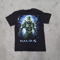Halo 4 Microsoft 2012 Tee Black Size Medium Mens T Shirt Xbox