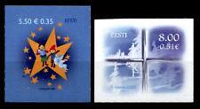 Weihnachten. Kinder, Engel, Sterne, Fensterkreuz, Eisblumen. 2W. Estland 2007