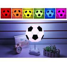 UK LED Football Desk Table Lamp Energy Saving Night Light Creative DIY Lights