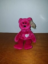 Ty Beanie Baby Valentina the Bear RARE and RETIRED with Errors