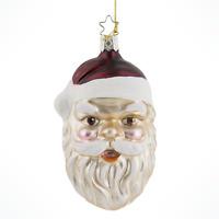 Heirlooms Inge Glas Vintage Santa Claus German Glass Christmas Tree Ornament NEW