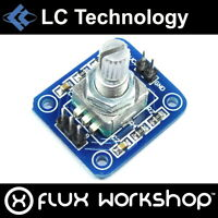 LC Technology Rotary Encoder Module LC-Encoder-EC11 360 Arduino Pi Flux Workshop