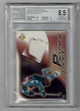 2001-02 Upper Deck Joe Sakic Game Used Jersey Swatch BGS 8.5 NM-MT+ Avalanche
