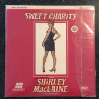 UNOPENED/SEALED! SWEET CHARITY (1968) Starring Shirley MaClaine - Laser Disc