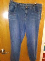 Lane Bryant size 24 genius fit jeans Straight Leg.