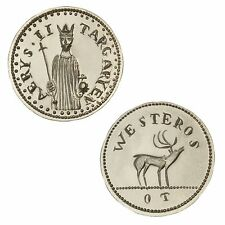"""Aerys II Targaryen, """"stag"""" Game of Thrones Coin, .999 silver, 1/10 troy ounce"""