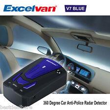 Excelvan V7 Scanning Advanced Voice Alert Laser LED Speed Safety Radar Detector