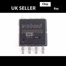 2x WINDBOND 25 Q 80 BVSIG W 25 Q 80 BVSIG 25Q80 8M-BIT di memoria flash di serie BIOS Chip IC