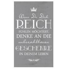 Shabby Chic Dekoschild Wandschild Schild Motivation Vintage Holz 68 Cm