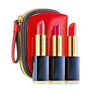 Estée Lauder Travel Exclusive 3 Pure Color Envy Sculpting Lipsticks (Value $76)