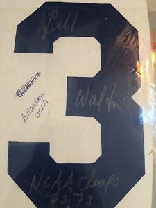 Bill Walton UCLA Bruins signed Jersey Number