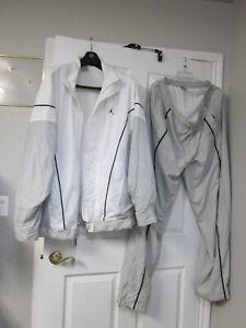 Used Nike Jordan Track Training Bodybuilding Workout Fitness GYM Size 3XL Suit
