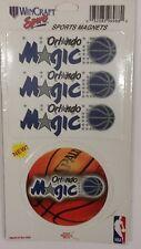 NBA Orlando Magic 2 Piece Die Cut Magnet Set, NEW